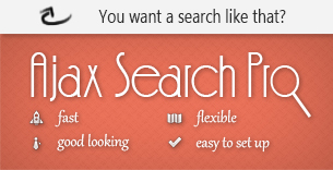 Ajax Search Pro for Wordpress