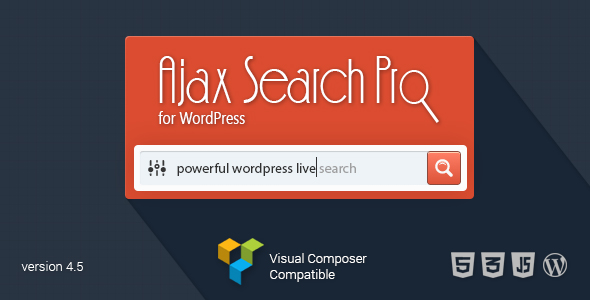 ajax search pro 4.5